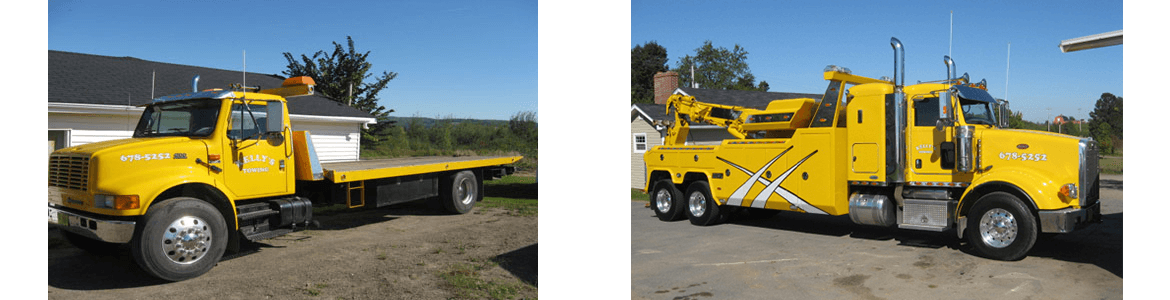 Kelly's Towing Services in New Brunswick and Surrounding Areas